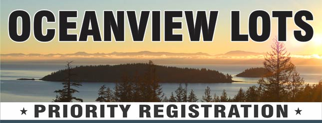 Register Today for Oceanfront Lots in Sechelt, BC